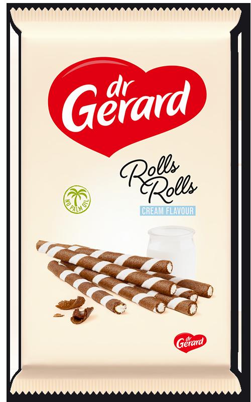 Rolls cream flavour 160g